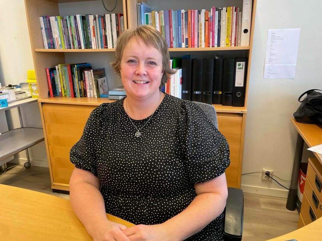 Berit Moan Møkkelgård er ny helsesøster i Rindalen