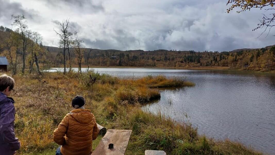 Ved Tiåvatnet