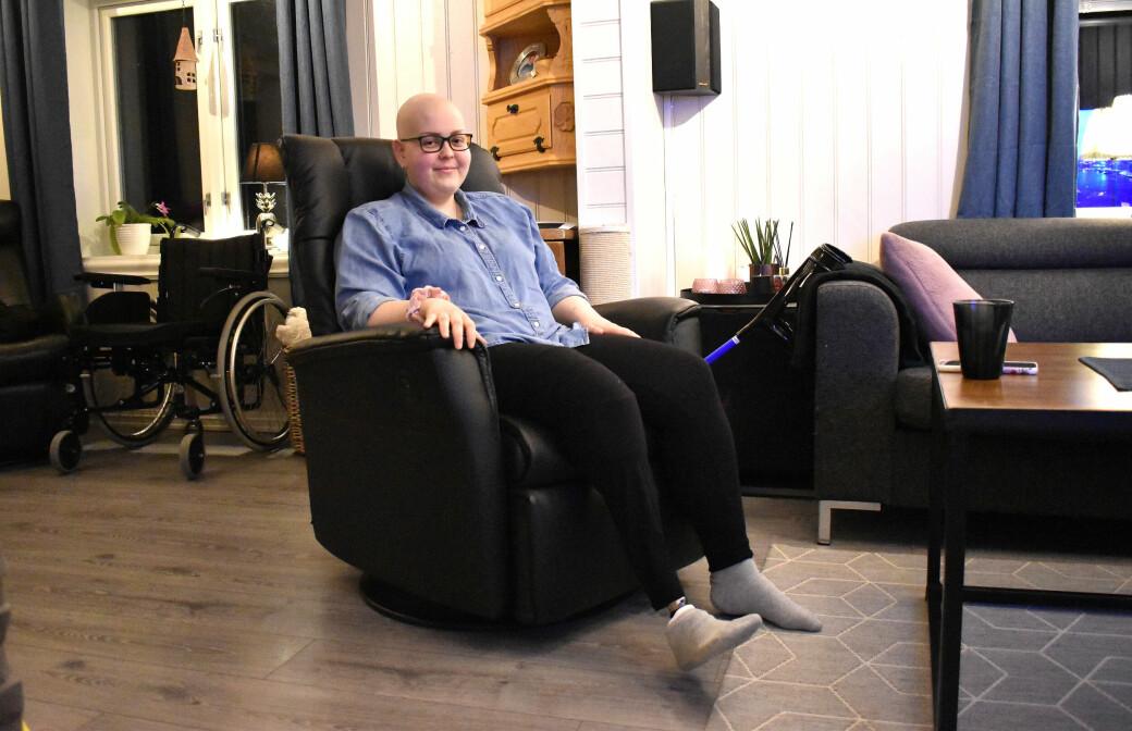 Lena Bye Halgunset har hatt et svært tøft år, men nå velger hun å se fremover