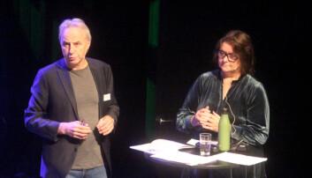 Per Helge Malvik og Karin Halle under konferansen.