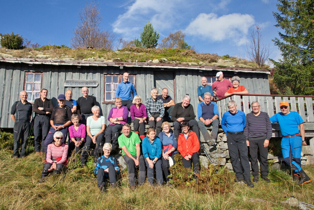 27 turgåere fikk en nydelig høstdag i fjellet.