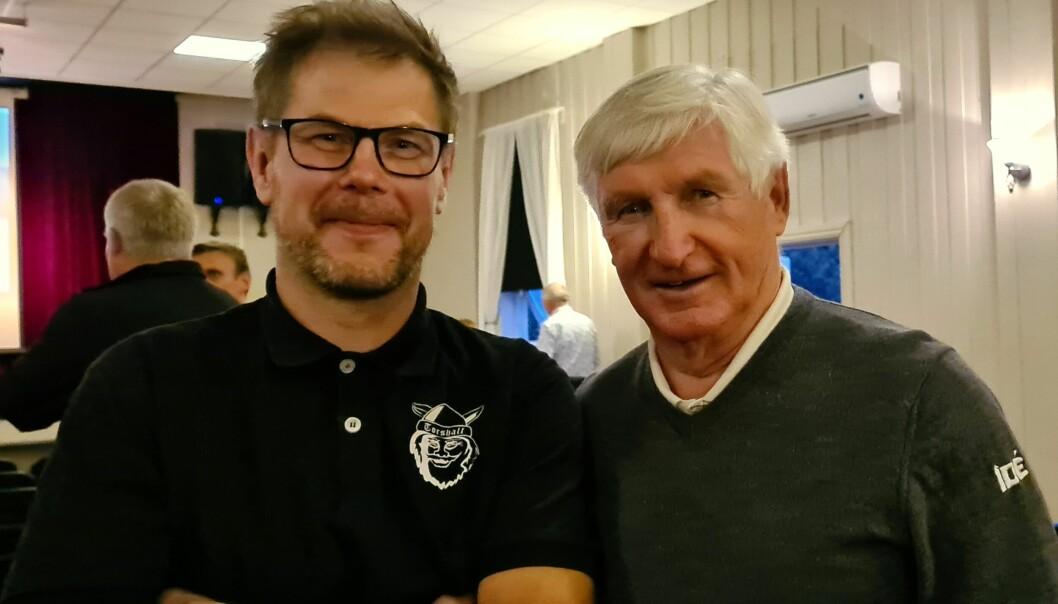 Karstein Mauset fekk møte hoppidolet sitt, Bjørn Wirkola.