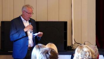 President i Trøndersk Skilaug Ola T. Heggem på heimebane
