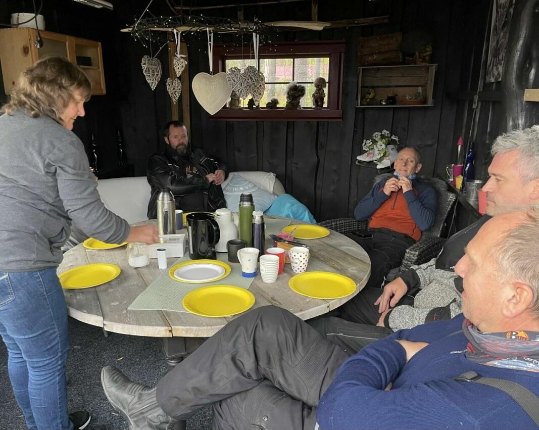 Onsdagstur til Frillsjøen og kaffelag på hytta til Eivind og Vigdis