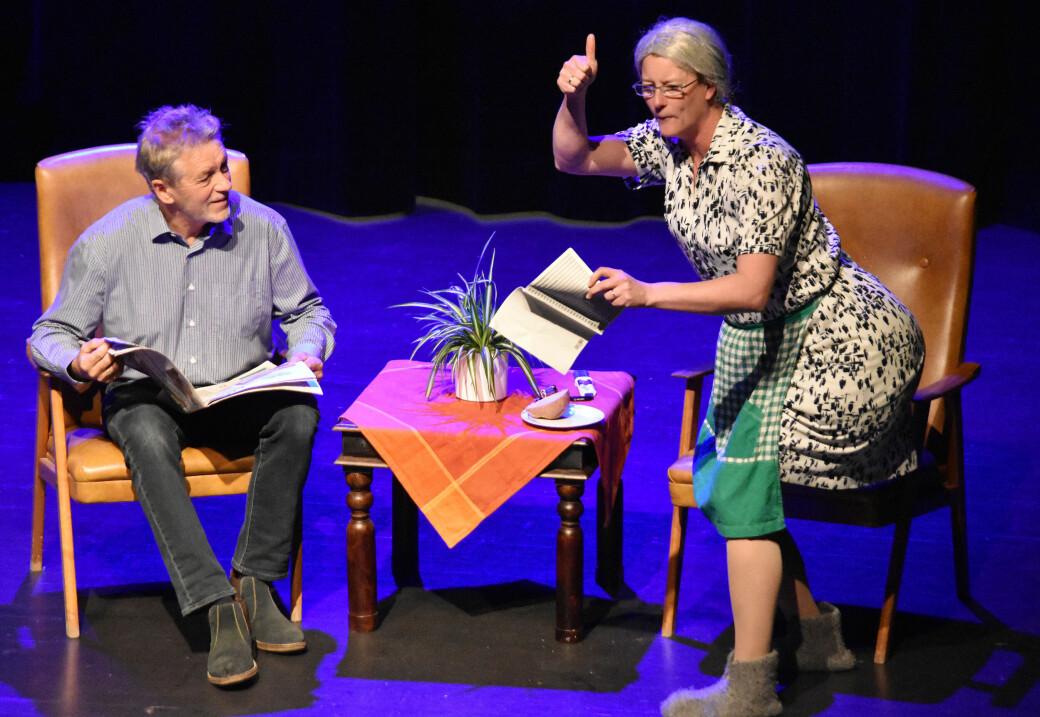 Tor Rovik og Rita Torhild Settemsdal viste gode prestasjoner både som sangere og skuespillere