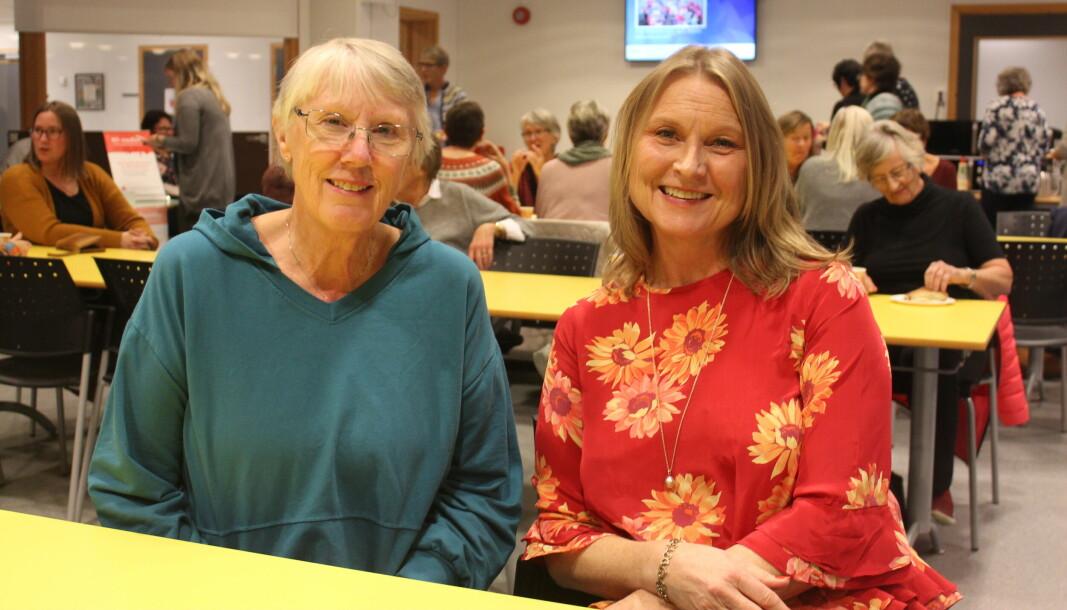 Britt May Hollås og Kari Løvendahl Mogstad