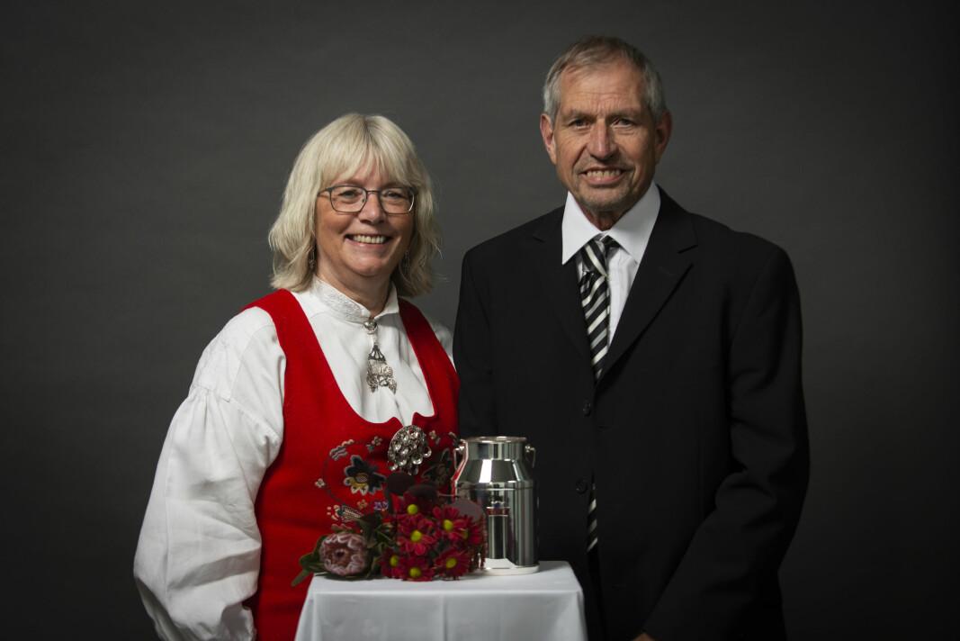 Lars Inge Røen og Else Marie Sandø.