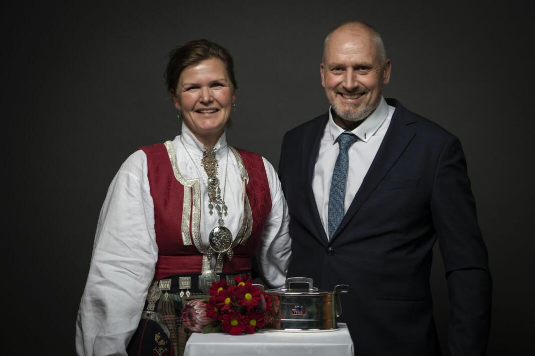Line og Ola Nordvik.