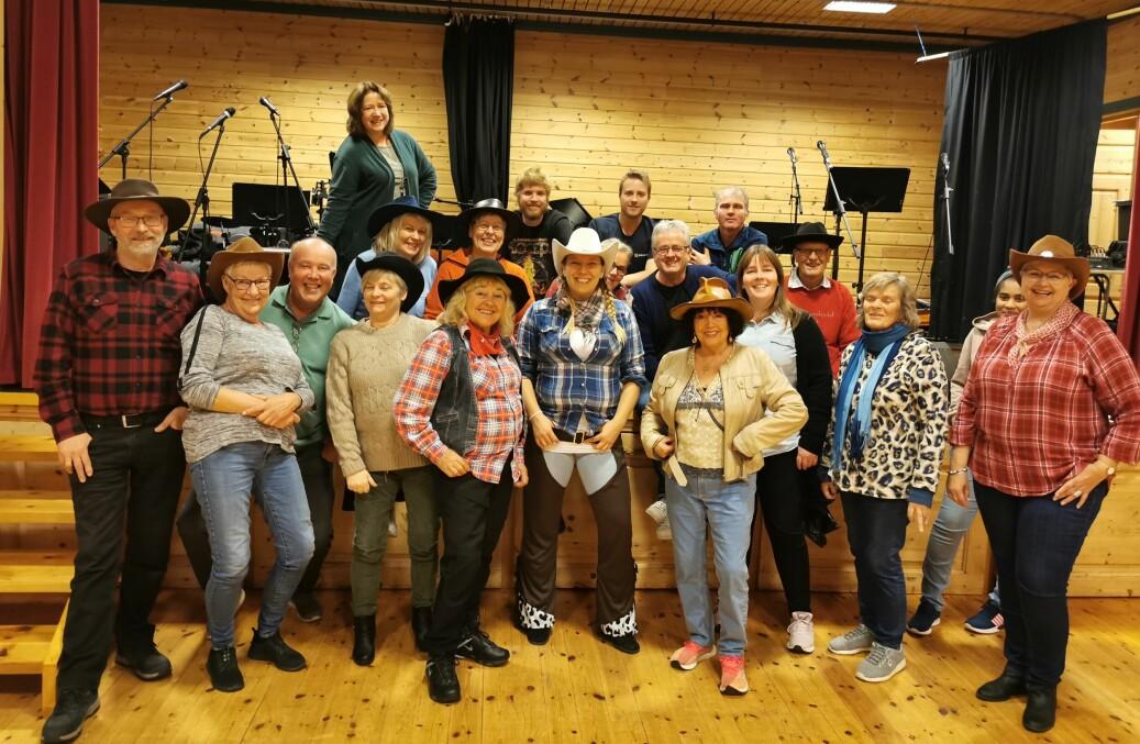 Straks klare for countrymusikk i korform